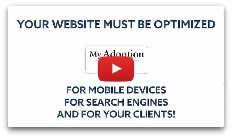 Website & SEO Design & Development for Adoption Attorneys Video