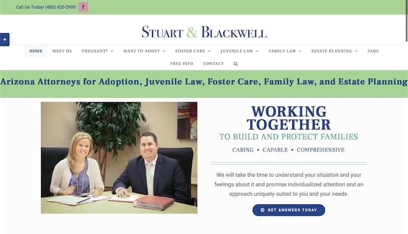 stuartandblackwell.com